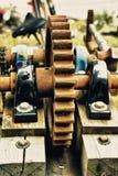 Vintage - Rusty Ratchet Wheel Royalty Free Stock Image