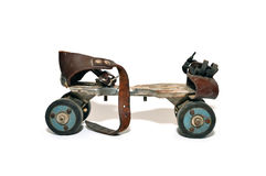 Vintage rusty skate Royalty Free Stock Images