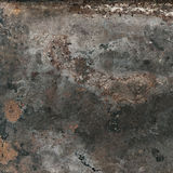 Vintage rusty textured metal background Corroded structure Stock Images