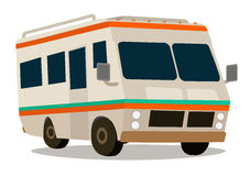 Vintage RV camper Stock Images
