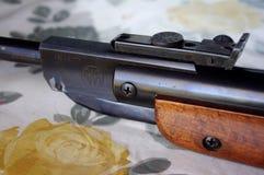 Vintage RWS Model 36 Pellet Rifle iron sight stock photography