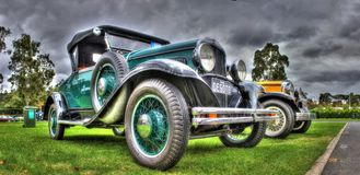 Vintage 1920s American car Royalty Free Stock Photo