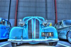 Vintage 1930s American style hot rod Royalty Free Stock Images