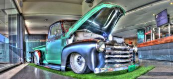 Vintage 1940s Chevy pick-up truck Royalty Free Stock Image