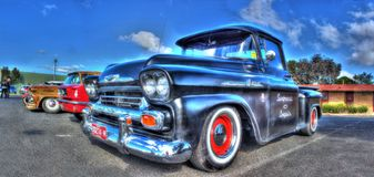 Vintage 1950s Chevy pickup truck Royalty Free Stock Image