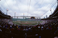 Vintage 1980`s Fenway Park, Boston, MA. Stock Images