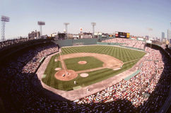 Vintage 1980's Fenway Park, Boston, MA. Royalty Free Stock Photo