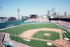 Vintage 1980's Fenway Park, Boston, MA. Stock Photos