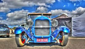 Vintage 1920s Ford hot rod Royalty Free Stock Photo