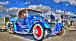 Vintage 1920s Ford hot rod Royalty Free Stock Photos