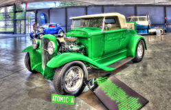 Vintage 1930s Ford hot rod Royalty Free Stock Photo