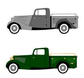Vintage 1940s pickup truck. Pickup truck from forties era Stock Photography