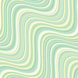 Vintage 60s style pale green stripes pattern. Vintage 60s style pale green stripes seamless pattern in pale colors. Repeatable motif for fabric, background stock illustration