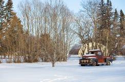 Vintage 1950s truck Stock Image