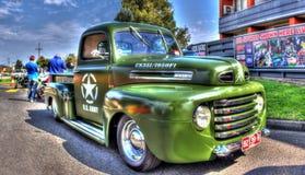 Vintage 1950s U.S. Army pickup truck Stock Image