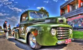 Vintage 1950s U.S. Army pickup truck Stock Photo