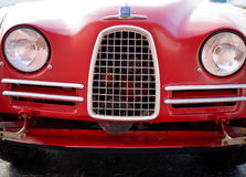 Vintage Saab 93 Front view. The first Saab imported into the United States, the Saab 93 royalty free stock photography