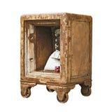 Vintage Safe Box Royalty Free Stock Photo