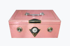 Vintage safe lock Stock Image