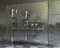 Vintage Safes Royalty Free Stock Photography