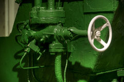 Vintage safety valve Stock Photography