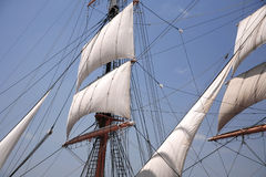 Vintage sail Stock Images