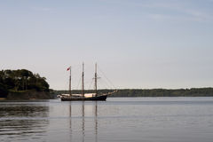 Vintage sailboat in Denmark Stock Photo