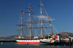 Vintage Sailing Ship, Balclutha Royalty Free Stock Images