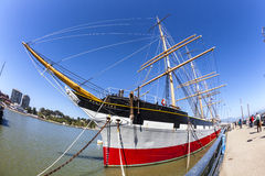 Vintage 1886 sailing ship, Royalty Free Stock Photos