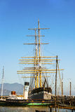 Vintage 1886 sailing ship, Stock Photography