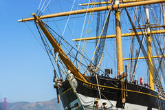 Vintage 1886 sailing ship, Royalty Free Stock Images