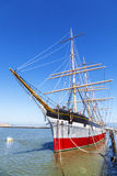 Vintage 1886 sailing ship, Royalty Free Stock Photography
