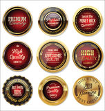 Vintage sale labels collection design elements, Premium quality Royalty Free Stock Image