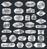 Vintage sale labels collection design elements, Premium quality Stock Images