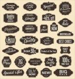 Vintage sale labels collection design elements, Premium quality Stock Image