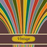 Vintage salute background Royalty Free Stock Photography