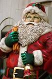 Vintage Santa. Antique vintage Saint Nick or santa claus statue Stock Photography
