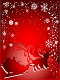 Vintage Santa Christmas Stock Image
