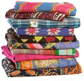 Vintage Sari Plaids imagens de stock