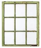 Vintage sash window panel Royalty Free Stock Image