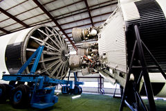 Vintage Saturno V Rocket Fotografia de Stock