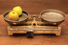 Vintage scales Royalty Free Stock Photo