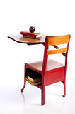 Vintage School Desk Stock Photography