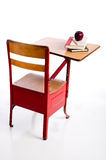 Vintage School Desk Stock Images