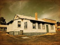 Vintage school house Royalty Free Stock Images