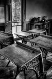 Vintage Schoolroom Royalty Free Stock Photo