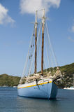 Vintage schooner bequia st. vincent Royalty Free Stock Photo