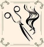Vintage scissors Stock Photo