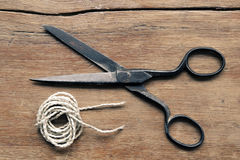 Vintage scissors Stock Photography