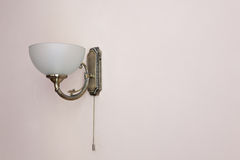 Vintage sconce on wall Royalty Free Stock Photography